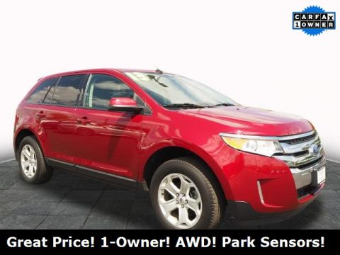 Pre-Owned 2013 Ford Edge SEL AWD 4D Sport Utility